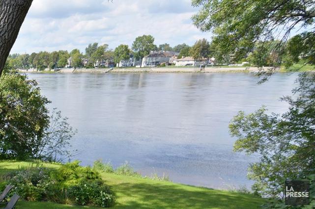 La rivière des Prairies, vue depuis Pierrefonds-Roxboro, où... (ARCHIVES LA PRESSE)