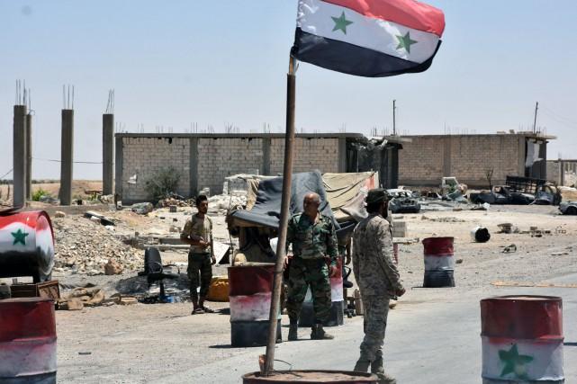 La décision d'imposer un cessez-le-feu en Syrie a... (Photo George OURFALIAN, AFP)