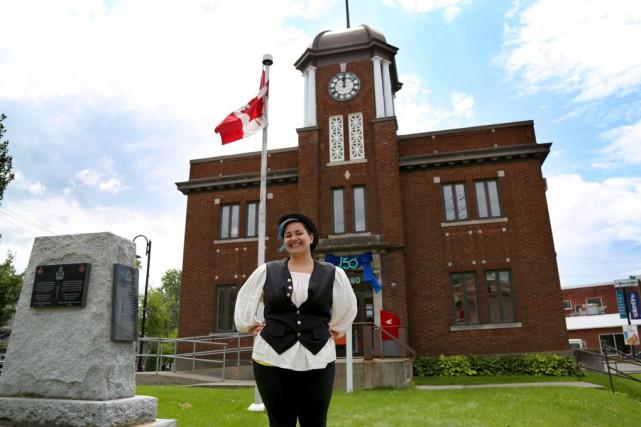 Patricia Grisé était l'une des guides qui racontait... (Julie Catudal)