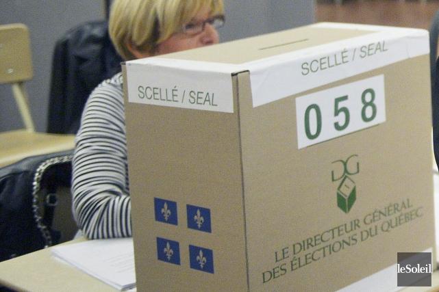 En moyenne, le coût d'une élection partielle tourne... (Photothèque Le Soleil, Jean-Marie Villeneuve)