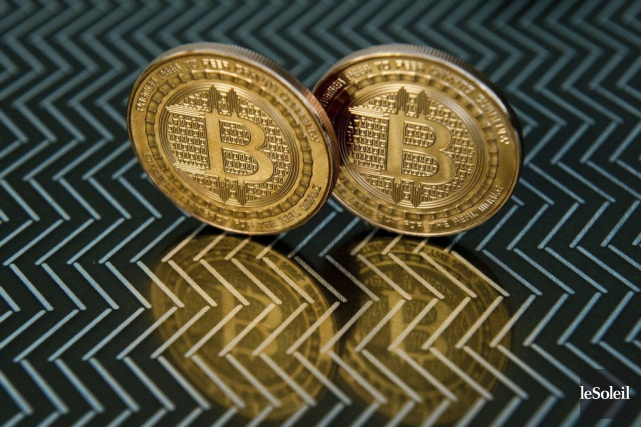 La monnaie bitcoin... (Photothèque Le Soleil)