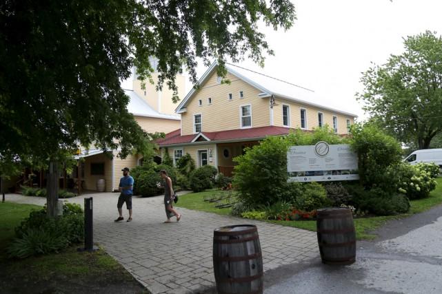 Quatorze vignobles des Cantons-de-l'Est prenaient part ce week-end... (Julie Catudal)