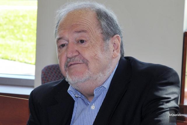 L'auteur originaire de Saint-Félicien, Alain Gagnon, s'est éteint... (Archives Le Quotidien)
