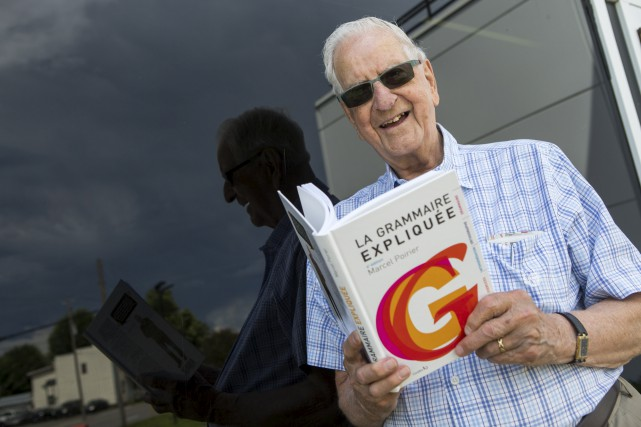 À 91 ans, le professeur de français Marcel...