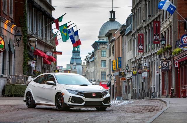 La TypeR vise à ajouter un peu de zeste à la production de Honda en mettant en... (Photos fournies par Honda)