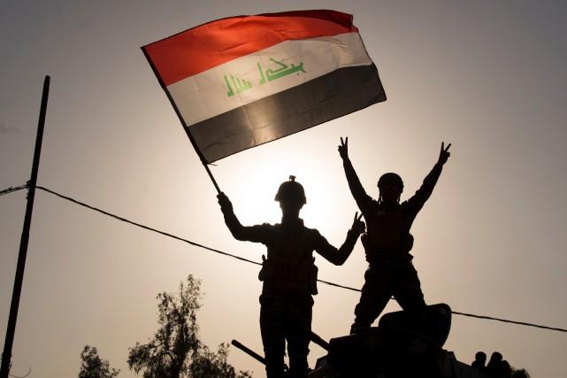 Selon le général Sami al-Aridhi, un commandant des... (PHOTO AGENCE FRANCE-PRESSE)