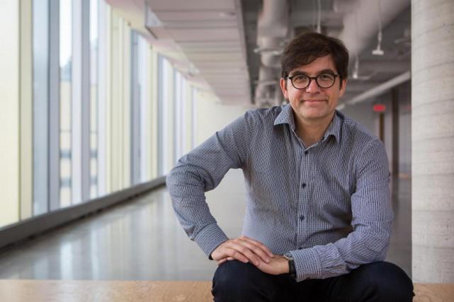 Martin Lessard, directeur général du MT Lab... (PHOTO SIMON GIROUX, LA PRESSE)