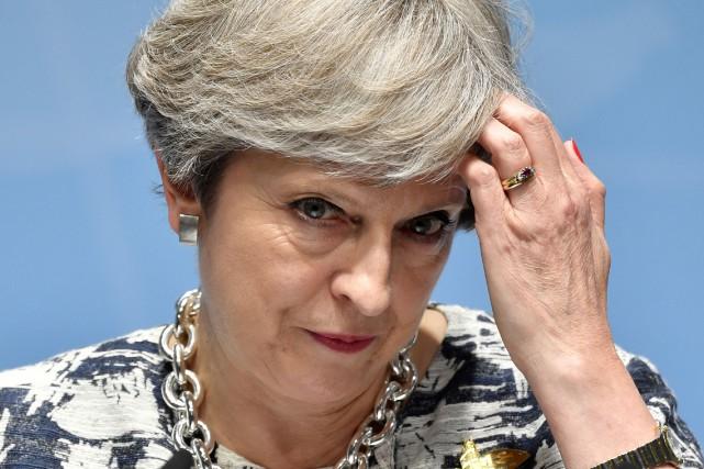 Theresa May, élue à la tête de son... (AFP)
