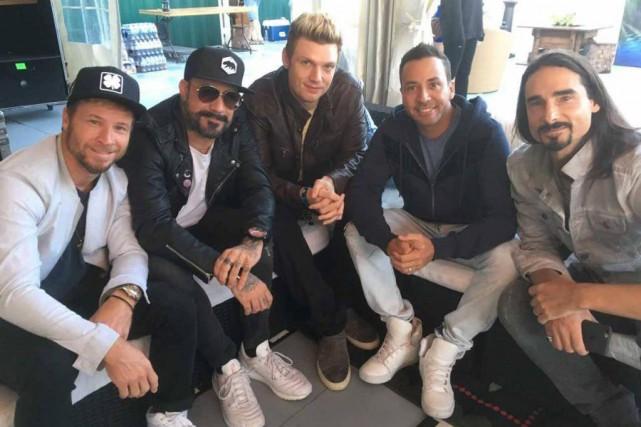 Les Backstreet Boys... (PHOTO FOURNIE PAR LE FESTIVAL D'ÉTÉ DE QUÉBEC)