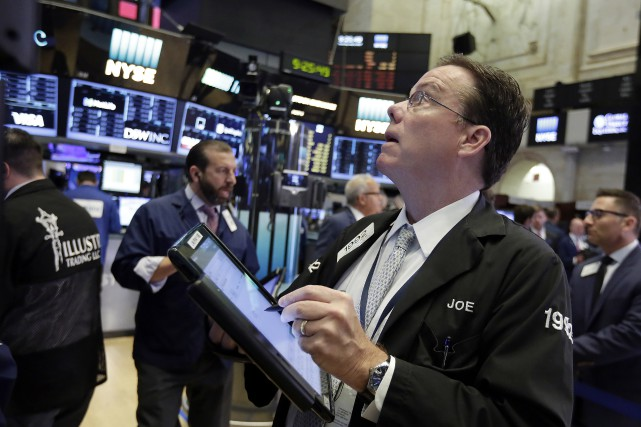 «Le marché est d'humeur attentiste et je pense... (AP)