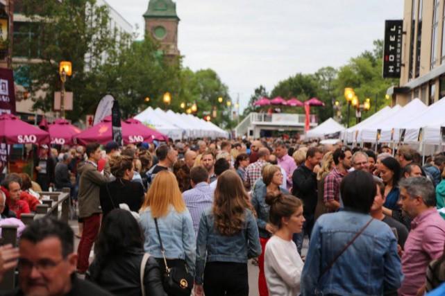 Le Festival des vins du Saguenay est de... (PHOTO MARIO LANDRY, FOURNIE PAR LE FESTIVAL DES VINS DU SAGUENAY)