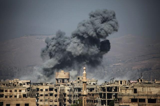 «La guerre en Syrie taille en pièces le... (AFP)