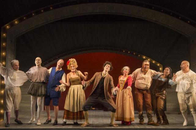 Molière, Shakespeare et moiest une comédie estivale qui... (Photo fournie par le Rideau Vert)