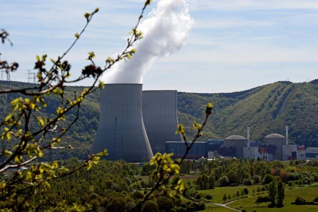 En France, le parc nucléaire, qui compte actuellement... (Photo AFP)