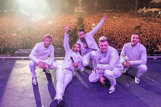 Si les Backstreet Boys ont conquis le coeur des gens de Québec dimanche soir,... (Tirée de Twitter)