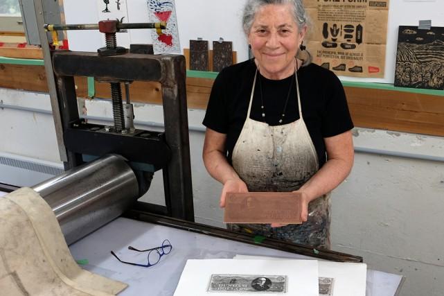 L'artiste Bernice Sorge est fascinée par l'histoire des... (Alain Dion)