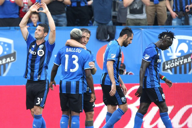 L'Impact a un rendement de 4-2-1 à la... (PHOTO REUTERS)