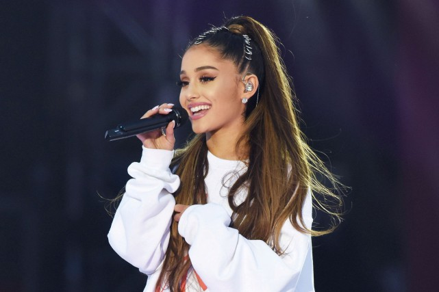 Ariana Grande lors du spectacle One Love Manchester,... (PHOTO REUTERS)
