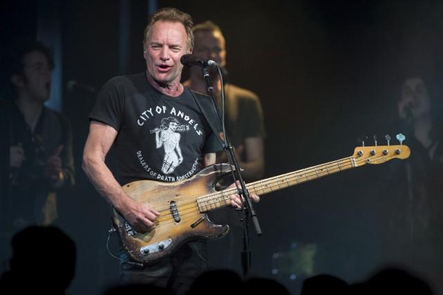 Sting a versé l'argent au projet Songlines, qui... (archives La Presse canadienne)