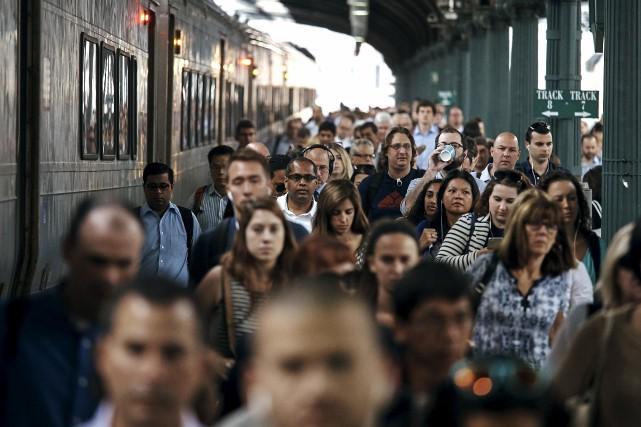 Selon Amtrak, une partie importante des voies de... (AP, Andres Kudacki)