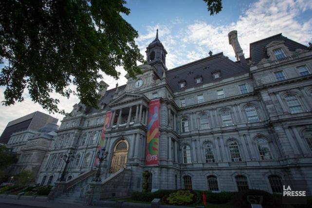 L'hôtel de ville de Montréal.... (Photo Olivier Jean, archives La Presse)