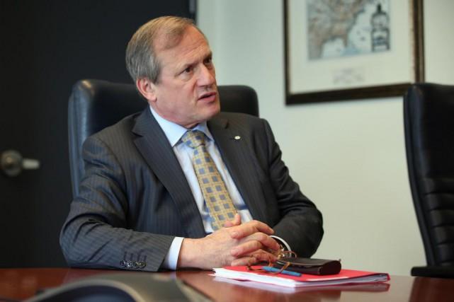 Louis Audet, PDG de Cogeco inc.... (Photo Martin Chamberland, La Presse)