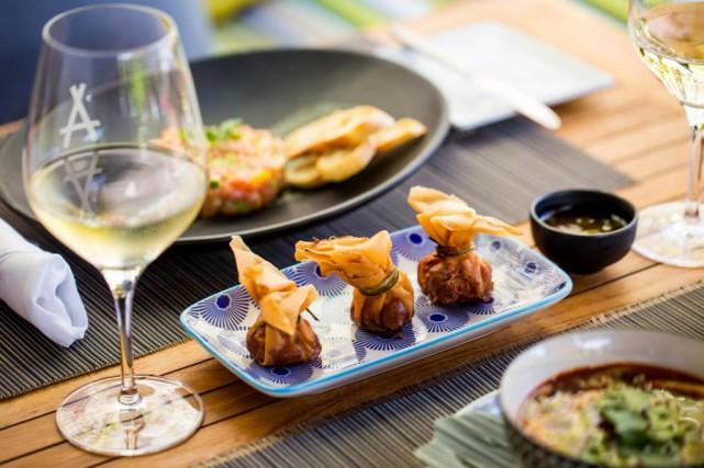 Le nouveau menu lunch de l'Auberge Saint-Gabriel est... (Photo fournie par l'Auberge Saint-Gabriel)