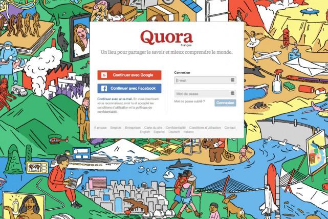 La plate-forme américaine de questions-réponses Quora, cofondée par un ancien...