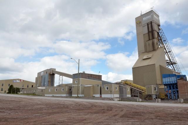 La mine de Saint-Honoré extrait du niobium, un... (Le Quotidien)