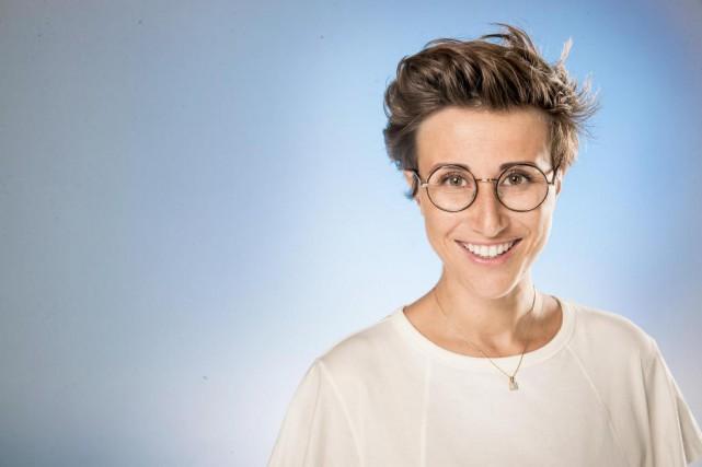 La Française Noémie Caillault présente son spectacle Maligne... (Photo Marco Campanozzi, La Presse)