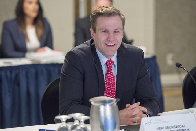Le premier ministre du Nouveau-Brunswick, Brian Gallant.... (THE CANADIAN PRESS)