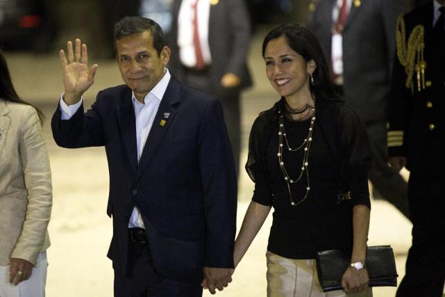 Ollanta Humala,à la tête du Pérou de 2011... (Photo Rodrigo Abd, AP)