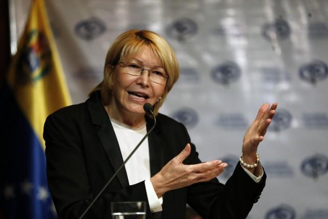 Réputée disciplinée et de caractère ferme, LuisaOrtega a... (PHOTO AP)