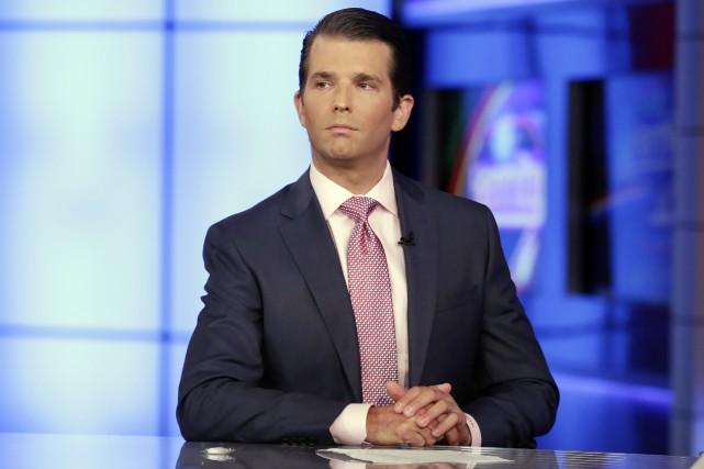 Donald Trump Jr.... (PHOTO AP)