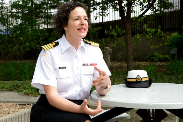 Geneviève Bernatchez... (PHOTO ARCHIVES FORCES ARMÉES CANADIENNES)
