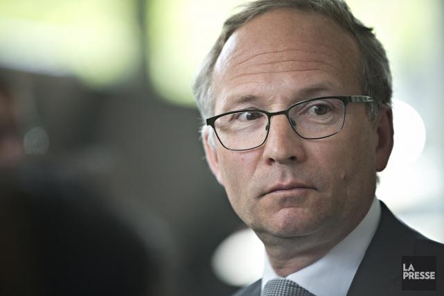Le ministre de la Sécurité publique et des... (PATRICK SANFAÇON, La Presse)