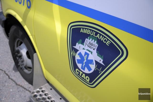 Ces ambulanciers représentés par le Syndicat de la... (Archives Le Quotidien, Mariane L. St-Gelais)