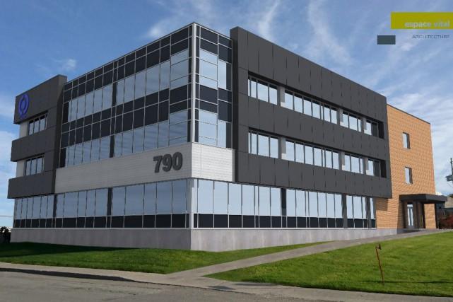 Après avoir libéré les syndicats de la FTQ... (Plan préparé par Espace vital Architecture)