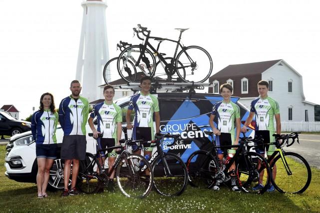L'Équipe Vélo Mauricie s'est bien débrouillée à l'ombre... (Courtoisie)