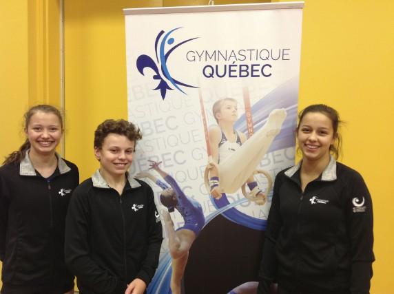 Le club Trampoline Intercité enverra trois de ses jeunes sportifs au...
