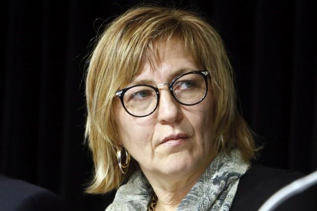 Marilyn Poitras a démissionné lundi de son poste... (Archives, La Presse Canadienne)