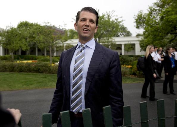Donald Trump Jr., le fils aîné du président... (AP)