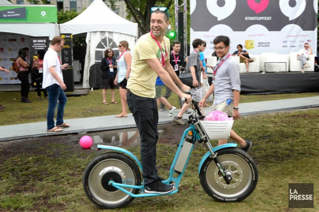 La septième édition du Startupfest, la grand-messe des... (PHOTO BERNARD BRAULT, ARCHIVES LA PRESSE)
