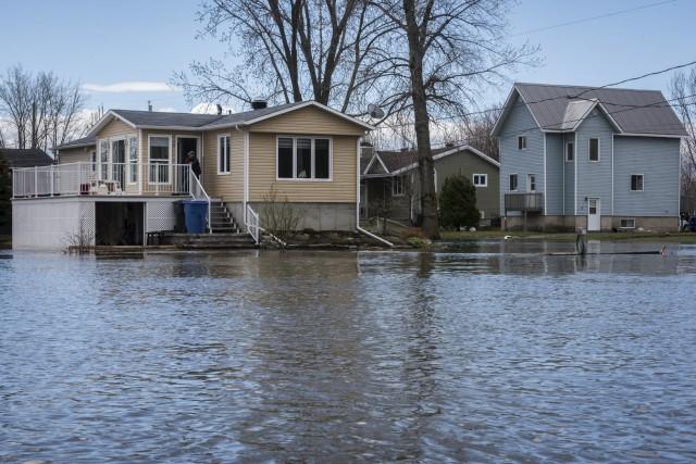Les inondations du printemps dernier dans la région.... (François Gervais)