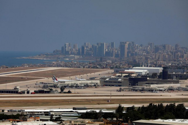L'aéroport international Rafic Hariri de Beyrouth, au Liban. Contrairement... (PHOTO JAMAL SAIDI, ARCHIVES REUTERS)