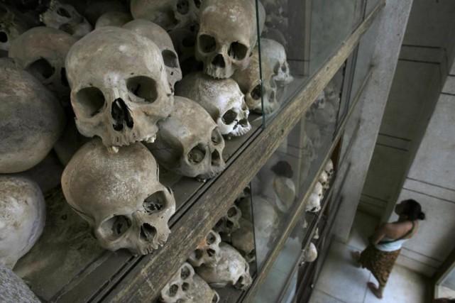 Les «KillingFields» à PhnomPenh.... (Photo Chor Sokunthea, ArchivesREUTERS)