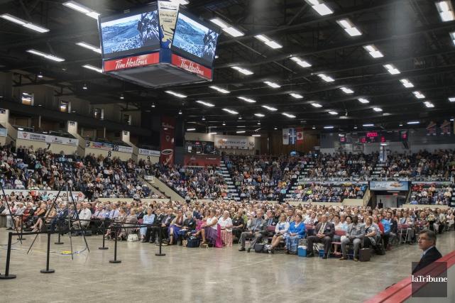 4000Témoinsde Jéhovah sont attendus à Sherbrooke.... (Archives La Tribune, Marie-Lou Béland)