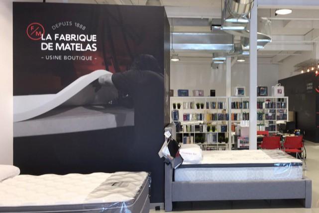 L'entreprise La Fabrique de Matelas, deGranby, annonce l'ouverture prochaine... (Photo tirée de Facebook)