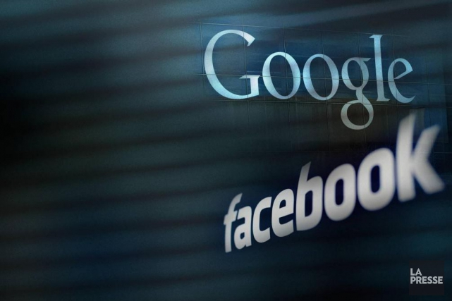 L'utilisation des réseaux sociaux croit de manière constante en Amérique du... (PHOTOMONTAGE LA PRESSE)