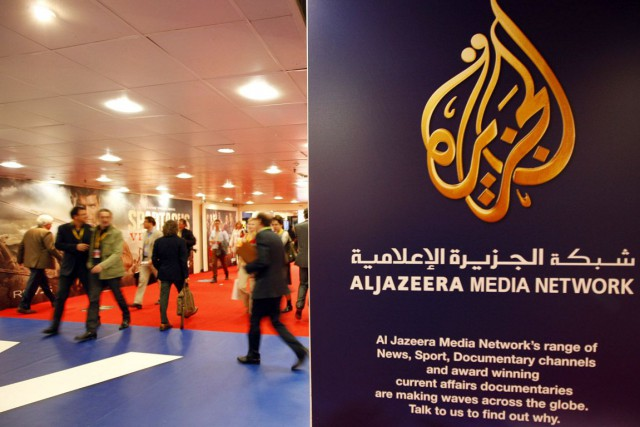 Al-Jazeera est notamment accusée parle ministre d'État aux... (PHOTO ÉRIC GAILLARD, ARCHIVES REUTERS)